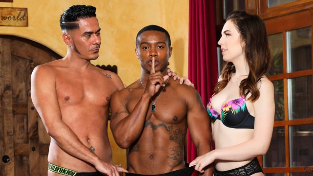 Wanna Fuck My Wife? Gotta Fuck Me Too #14 – Raven Right, Jake Waters & Cesar Xes